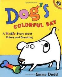 Dog's Colourful Day