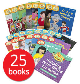 Phonics and First Stories Collection Level4-6