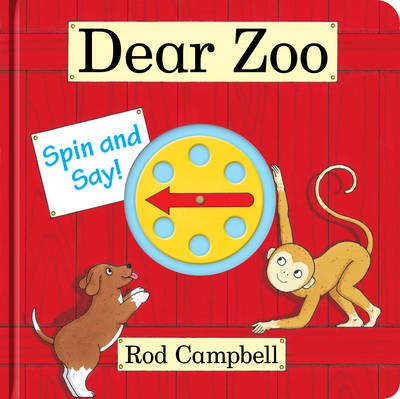 DEAR ZOO SPIN AND SAY/BRD