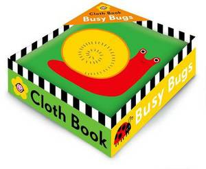 Cloth Book Busy Bugs