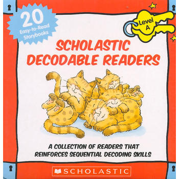 Scholastic decodable readers A