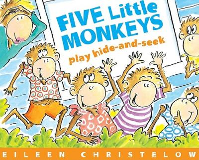 five little monkeys play hideandseek