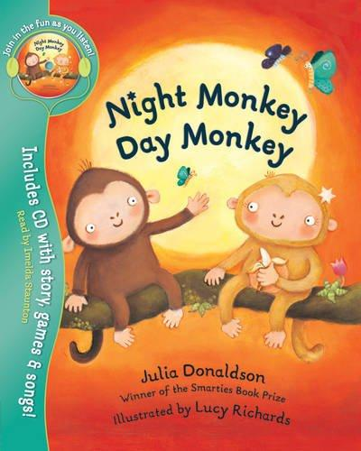 Night Monkey, Day Monkey (Book + CD)