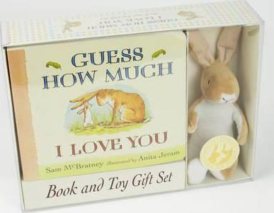 Guess how much i love you (book and toy gift set)