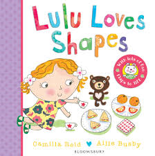 LULU LOVES SHAPES/LIFT-FLAP BRD