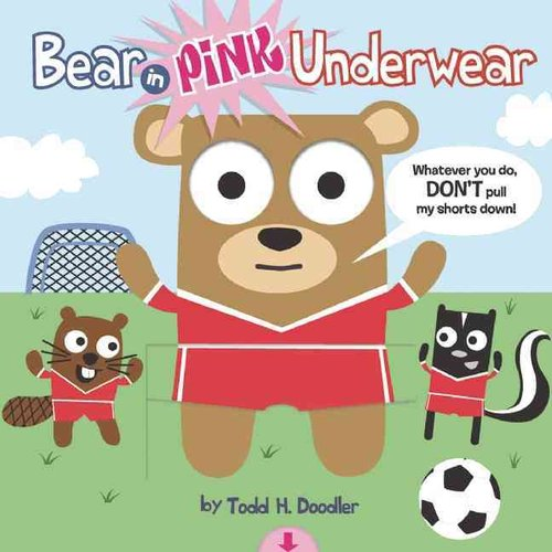 Bear in Pink Underwear (Pull Down) (Ages 4 and up) (Blue Apple)