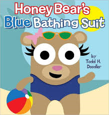 Honey Bears Blue Bathing Suit (Ages 4 and up) (Blue Apple)