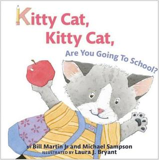圖6:英文繪本推薦書單:Kitty Cat, Kitty Cat, Are You Going To School
