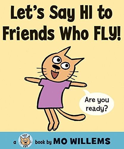 圖12:英文繪本推薦書單:Let's say HI to Friends Who Fly!