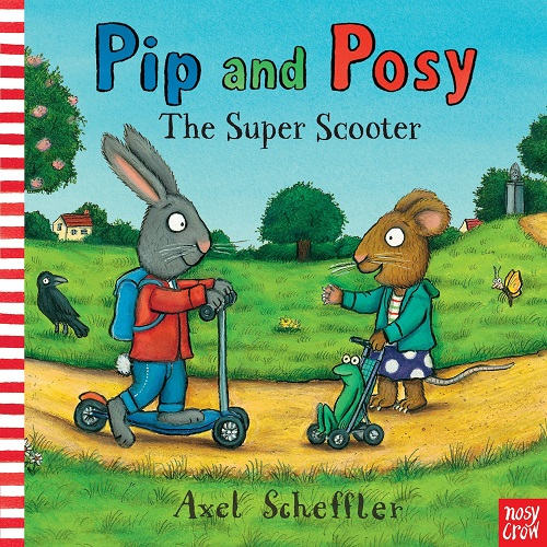 圖16:英文繪本推薦書單:Pip and posy the super scooter