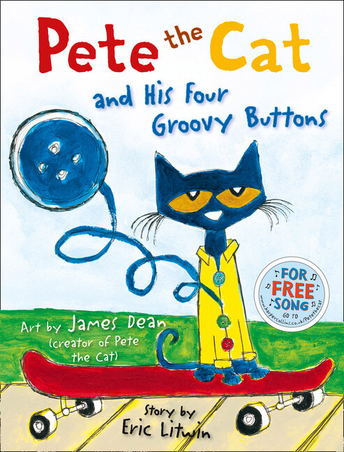 圖9.體驗故事 Pete the cat and his 4 groovy buttons